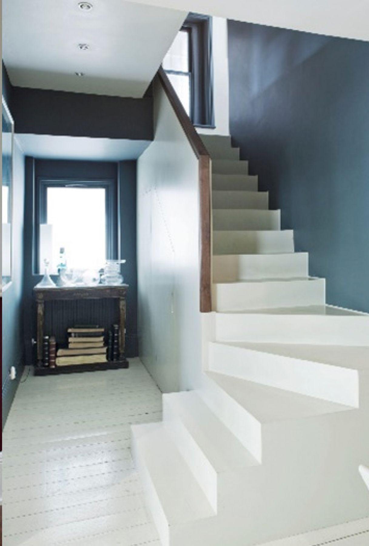 rénovation escaliers - pvr peinture sarzeau morbihan